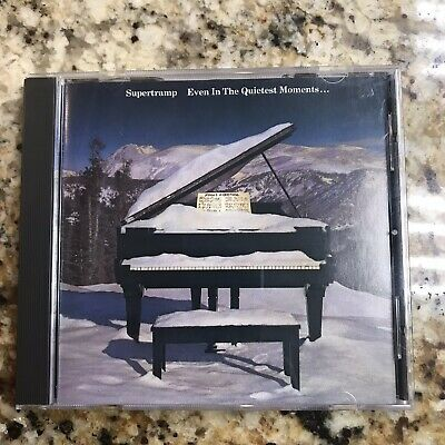 Supertramp - Even in the Quietest Moments CD Good Condition