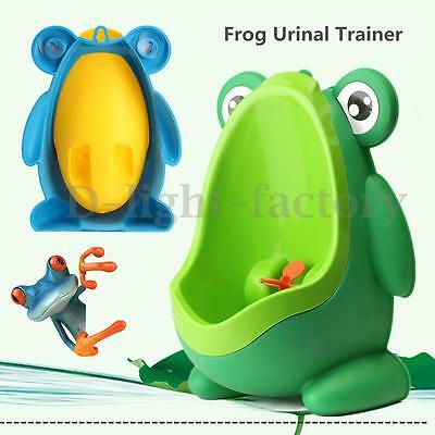 Children Toddler Frog Potty Toilet Training Urinal Kids Baby Boy Pee
