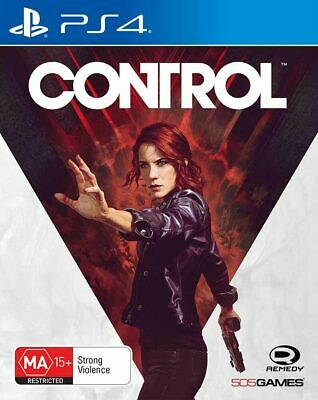 Control PS4 Game NEW