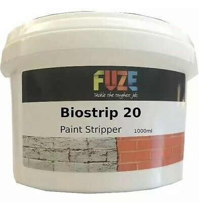 Biostrip 20 Paint Stripper, paint remover, remove paint Waterbased - 1 Litre