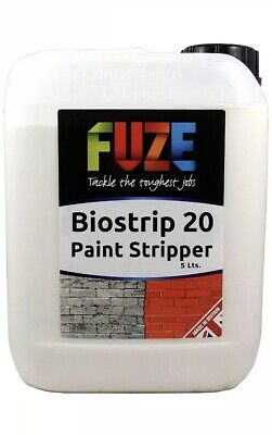 Biostrip 20 Paint Stripper, paint remover, strip paint,  Waterbased - 5 litres,