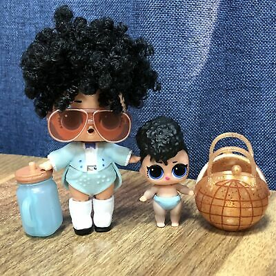 LOL Surprise Doll #HAIRGOALS MISS JIVE Makeover Series+Lil Miss Jive Set Gift