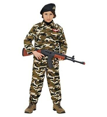 Soldier Faschingsköstüm Childrens Fancy Dress Boys, Size 116 cm, 4-5 Years