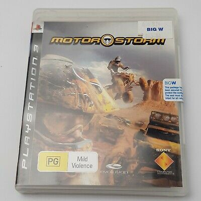 Motorstorm Off-Road Racing Buggy Rally PS3 Sony Playstation 3 Game PAL Pre-owned