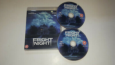 * Blu-Ray Film * FRIGHT NIGHT + DVD * Blu Ray Movie *