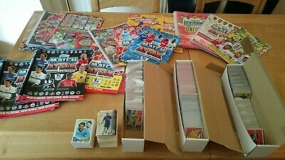 Huge Football card collection, Match Attax, Shoot-Out, 5 x complete sets & extra