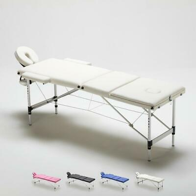 Table de massage portable pliante en aluminium à 3 zones 210 cm  THAI