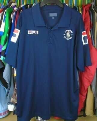 Luton Town 2013 Fila Football Soccer Polo Shirt Jersey Top Xl Adult