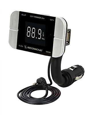 SCOSCHE FMTD3PRO FM Transmitter with USB Charger