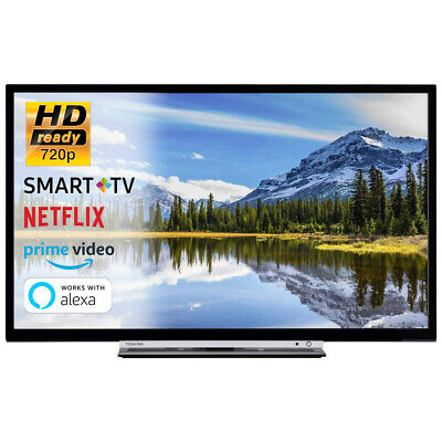 SMART TV 32 Pollici Televisore HD Ready 720p Toshiba 32W3863DA Cinema Dolby HDMI