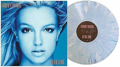 New Britney Spears In the Zone Limited Edition Exclusive Blue Colored Vinyl LP