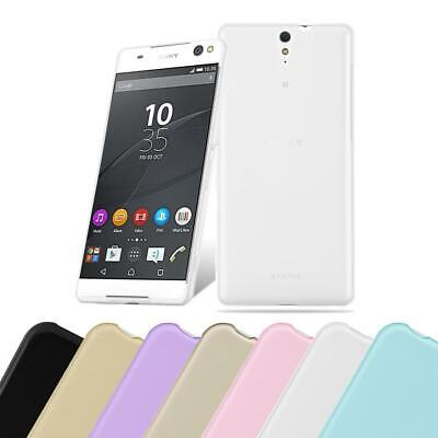 Coque Housse Silicone pour Sony Xperia C5 ULTRA Protection Case Slim TPU Cover