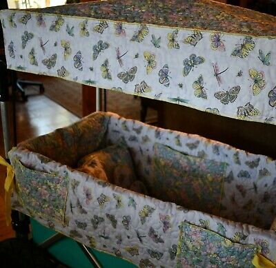 Deluxe Keenz Wagon Liner with Accessories (Reversable)Pre-quilted Fabric