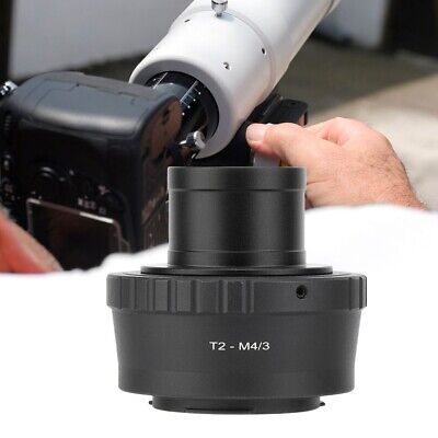 T2-M4/3 Eyepiece Telescope Adapter Ring for Olympus EP1 EP2 M4/3 Mount Camera