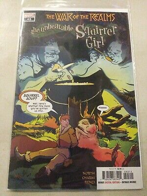 The Unbeatable Squirrel Girl #6 Variant Edition Marvel Comics CB9892