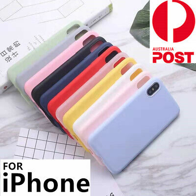 Ultra Thin Soft Silicone Case Cover For iPhone 11 Pro Max XS XR X 8 7 6 s Plus