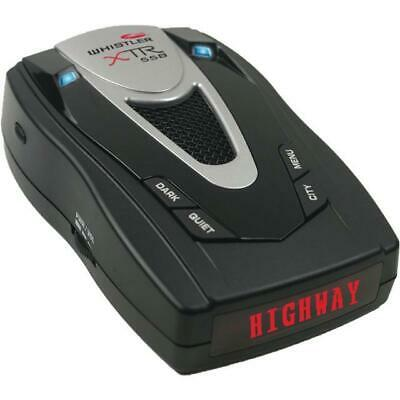 Whistler 360 Degree Long Range Laser Radar Detector W/ Real voice Alerts XTR-558