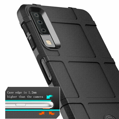 Rugged Rubber Armor Case for Samsung Galaxy A9 A7 2018 A50 A70 Shockproof Cover