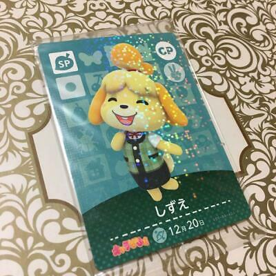 Animal Crossing amiibo card Shizue CP Forest Happy home Isabelle free shipping