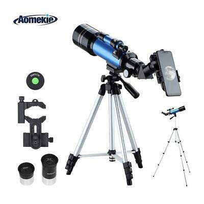 Aomekie Telescopes for Aastronomy 70/400 Astronomical Telescope with F40070mm