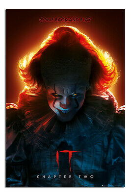 IT Chapter Two Poster Come Back And Play Official Licensed 24 x 36 Inches