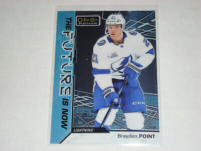 18-19 Ud Opc Platinum The Future Is Now Brayden Point Rc