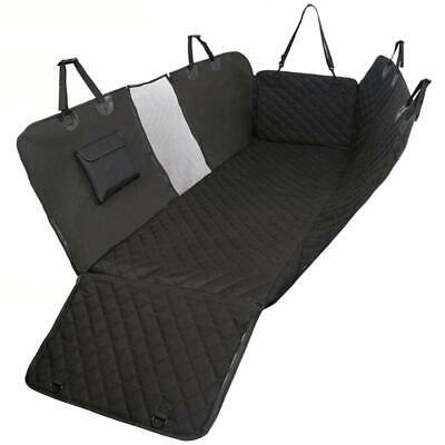 Dog Hammock Car Back Seat Cover Pets100% Waterproof Scratch Proof Nonslip Pocket