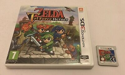 The Legend of Zelda: Tri Force Heroes Nintendo 3DS Boxed PAL