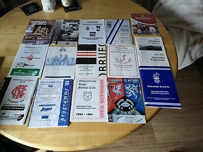 Rugby Union mixed Programmes Joblot 10 (15 included)