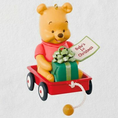 Hallmark 2019 Disney Winnie the Pooh BABY'S FIRST CHRISTMAS 2019 Ornament