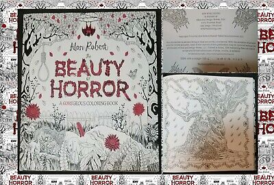 The Beauty of Horror: A GOREgeous Coloring Book Robert, Alan Paperback