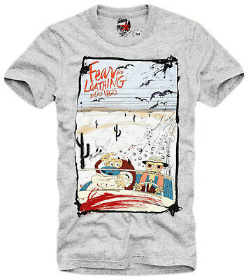 727C E1SYNDICATE T-SHIRT DOPE FEAR AND LOATHING IN LAS VEGAS LSD WEED KUSH