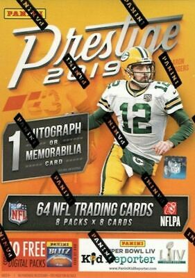 2019 Panini Prestige FOOTBALL CARD SINGLES - Complete Your Sets!