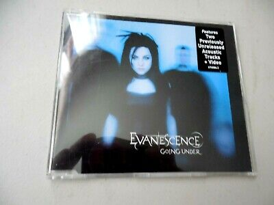 Evanescence Going Under CD Maxi Live Acoustic & Video Import