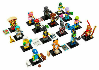 LEGO Series 19 Minifigures - Complete Set of 16 -71025