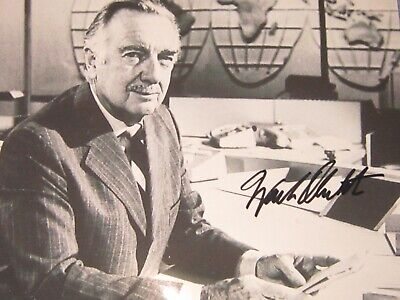 Walter Cronkite Signed Autograph Best Photo w Coa
