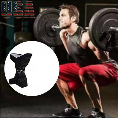 US Power Lift Joint Support Knee Brace Pad Rebound Spring Force Running Knee Pad