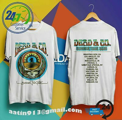 Dead And /& Company T Shirt SUMMER TOUR 2019 Noblesville Indiana Deer Creek S-5XL