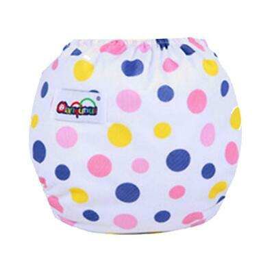 Baby Infant Diaper Pant Breathable Reusable Adjustable Nappy Underwear