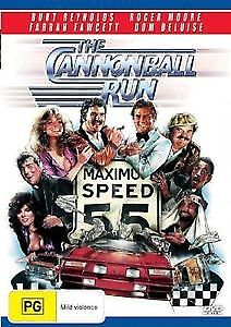 The Cannonball Run Dvd New And Sealed