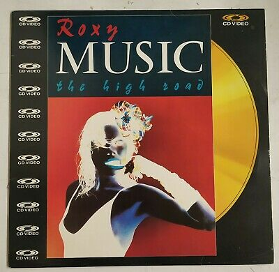 Roxy Music the High Road Laserdisc UK PAL 1983
