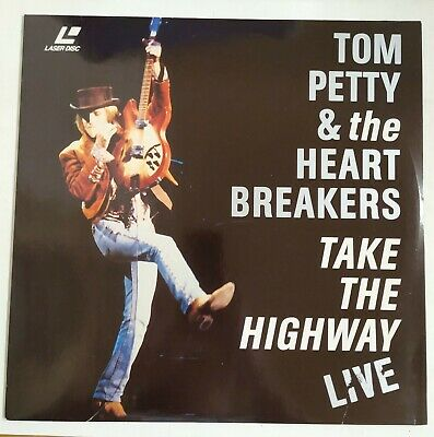 Tom Pettty & The Heartbreakers Take The Highway Live Laserdisc  PAL 1992