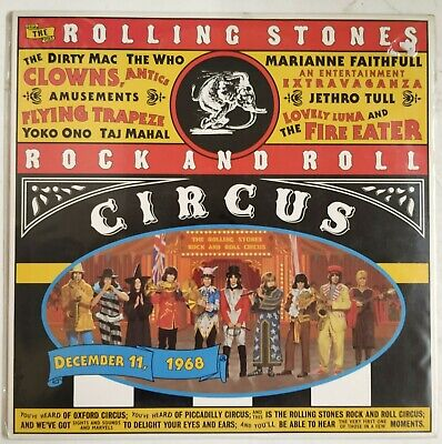 The Rolling Stones Rock And Roll Circus Laserdisc  USA 1995 NTSC