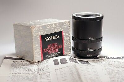 Yashica Auto Extension Tubos M42