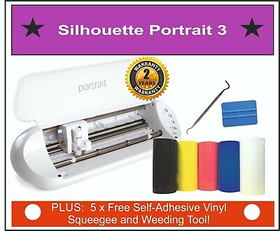 Silhouette Portrait 2 Cutter, Monogram Initials,  79 Freebies! Next Day Delivery