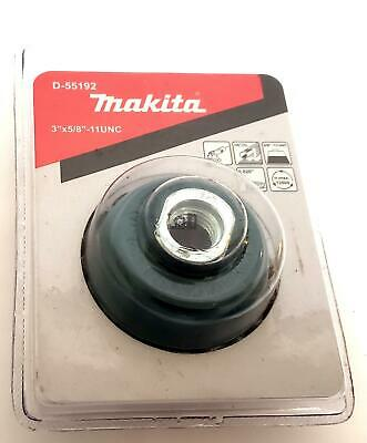 """Makita D-55192 3"""" Knotted Wire Cup Brush Wheel for 5/8-11 Grinder"""
