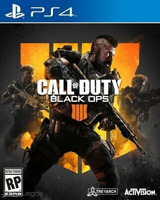 Call Of Duty Black Ops 4 Ps4 ( No-Cd ) English ( Secondary )