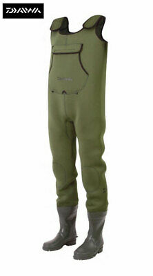 Clearance Daiwa Neoprene Chest Waders All Sizes Available