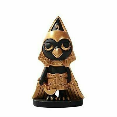 Pacific Giftware Ancient Egyptian Horus Miniature Statue Black Gold
