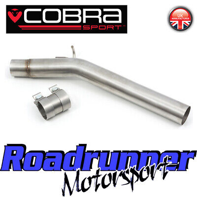 Cobra Sport VW Golf R MK7 7.5 S3 8v Resonator Delete Pipe Exhaust VW81 Fits OEM